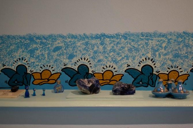Murales in camera da letto (particolare)
